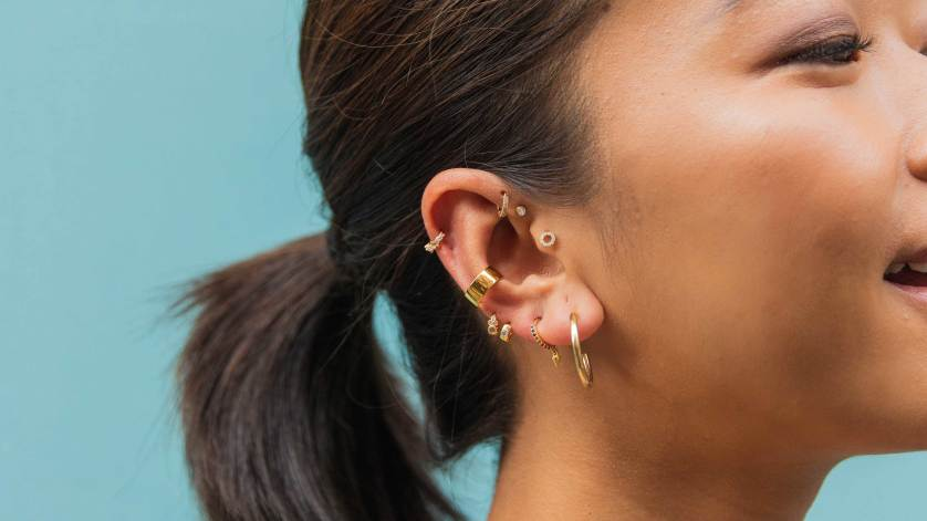 Piercings galore! Cartilage Hoops are designed for healed piercings and are perfect for cartilage piercings.