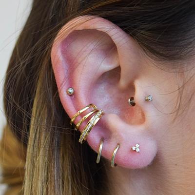 Astrid Miyu Ear Piercing Look Book