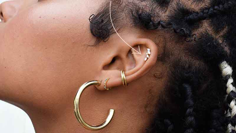 Astrid & Miyu's Barbell Earring range are suitable for all piercings. Buy Barbell earrings in gold, silver and rose gold online.