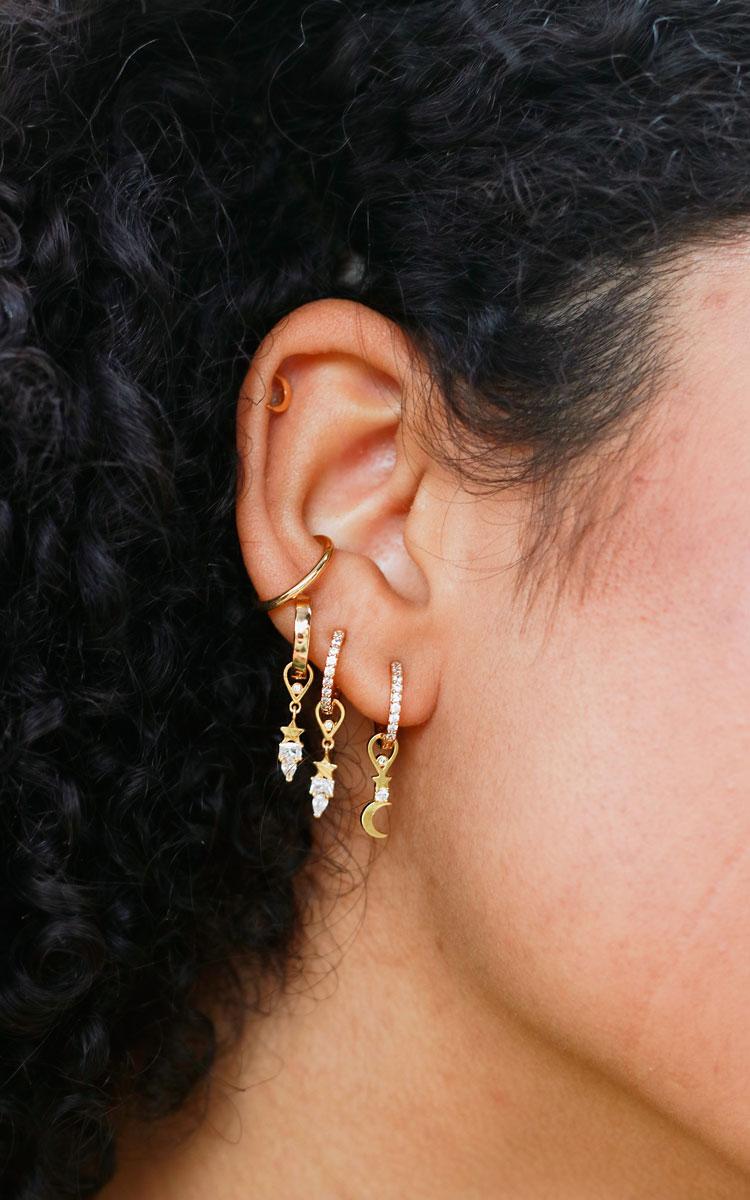 charm ear stack