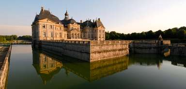 Façade nord du Château de Vaux le Vicomte   Béatrice Lécuyer-Bibal