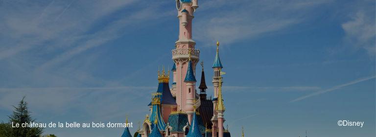 Le château de la belle au bois dormant ©Disney
