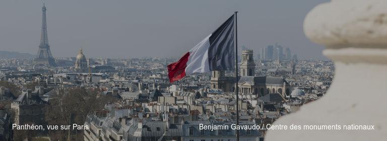 Panthéon, vue sur Paris Benjamin Gavaudo / Centre des monuments nationaux