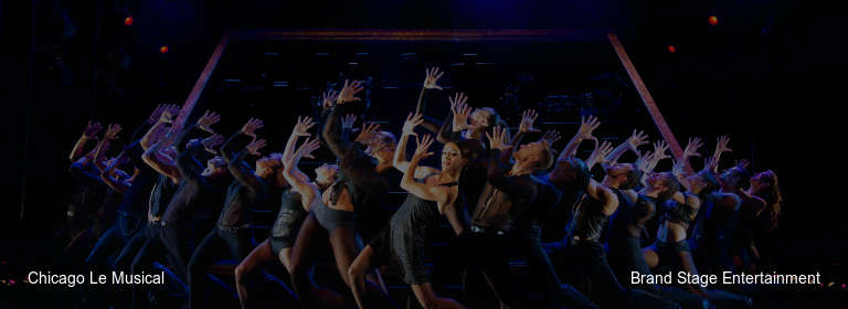 Chicago Le Musical Brand Stage Entertainment