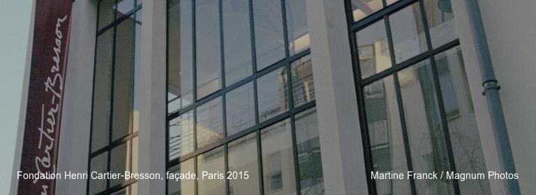 Fondation Henri Cartier-Bresson, façade, Paris 2015 Martine Franck / Magnum Photos