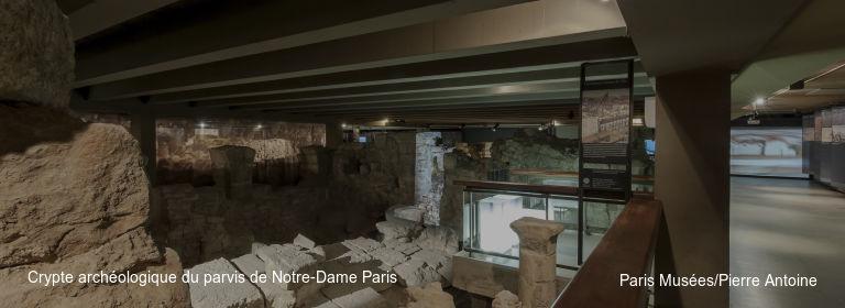 Crypte archéologique du parvis de Notre-Dame Paris Paris Musées/Pierre Antoine