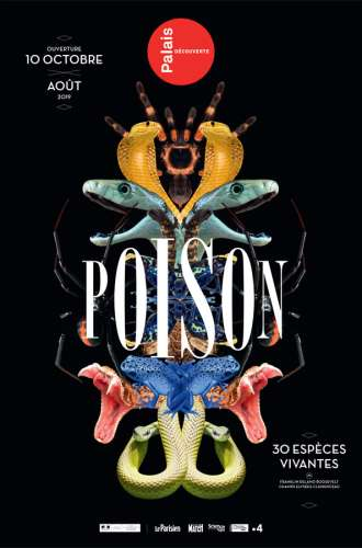POISONS PALAIS DECOUVERTE 2018