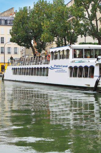 """Paris Canal%252C croisière commentée """"De la Seine au Canal Saint-Martin"""". Paris Canal"""
