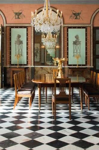 La salle à manger du musée national du château de Malmaison%252C Rueil-Malmaison Aurore Markowski