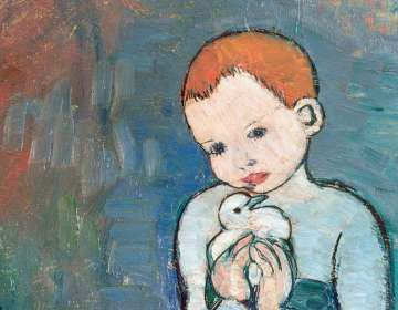 Pablo Picasso (1881-1973), Acrobate à la boule, 1905 © Image The Pushkin State Museum of Fine Arts, Moscow © Succession Picasso 2018