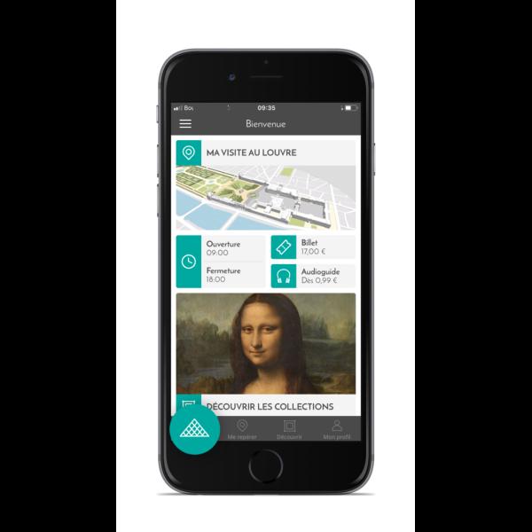 Application du Musée du Louvre Application du Musée du Louvre
