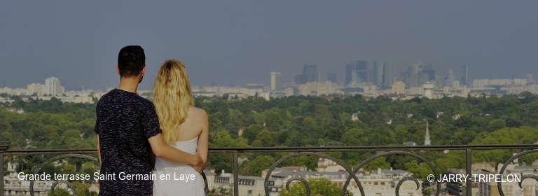 Grande terrasse Saint Germain en Laye © JARRY-TRIPELON