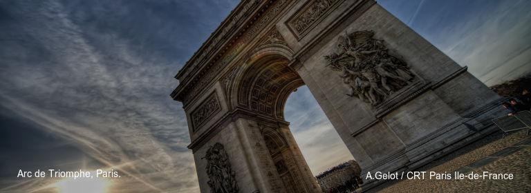 Arc de Triomphe, Paris. A.Gelot / CRT Paris Ile-de-France