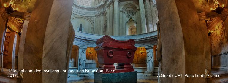 Hôtel national des Invalides, tombeau de Napoléon, Paris 2017. A.Gelot / CRT Paris Ile-de-France