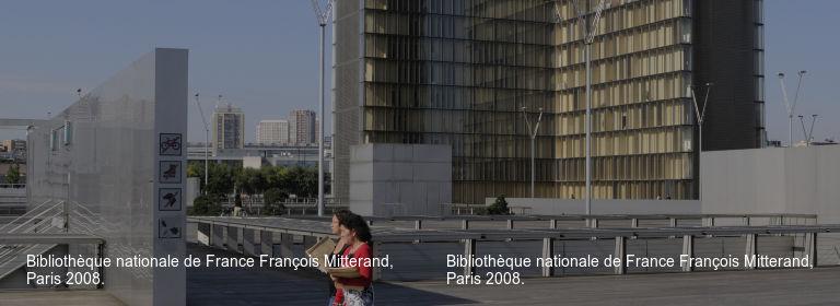 Bibliothèque nationale de France François Mitterand%252C Paris 2008. Bibliothèque nationale de France François Mitterand%252C Paris 2008.