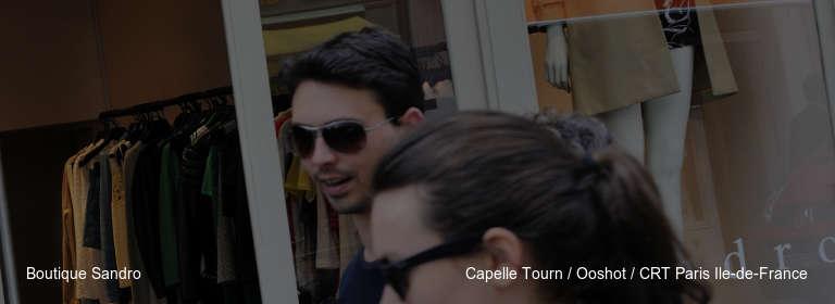 Boutique Sandro Capelle Tourn / Ooshot / CRT Paris Ile-de-France