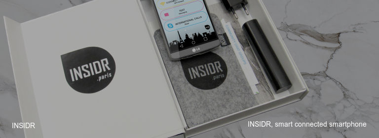 INSIDR INSIDR, smart connected smartphone