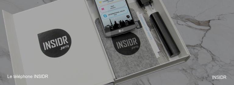 Le téléphone INSIDR INSIDR