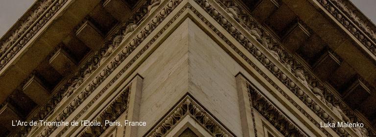 L'Arc de Triomphe de l'Etoile, Paris, France Luka Malenko