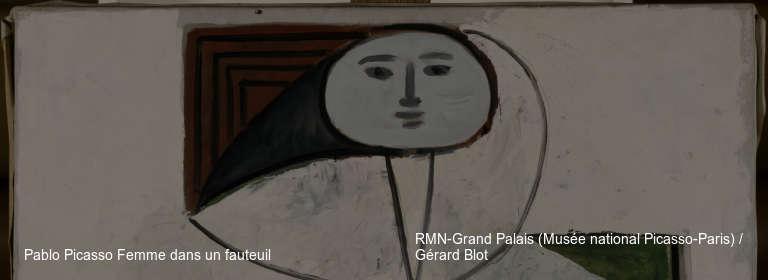 Pablo Picasso Femme dans un fauteuil RMN-Grand Palais (Musée national Picasso-Paris) / Gérard Blot