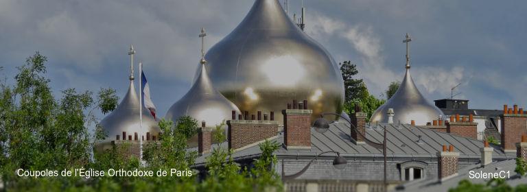 Coupoles de l'Église Orthodoxe de Paris SoleneC1