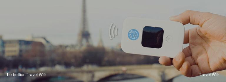 Le boîtier Travel Wifi Travel Wifi