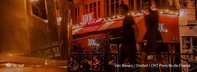 Bar de nuit Van Biesen / Ooshot / CRT Paris Ile-de-France