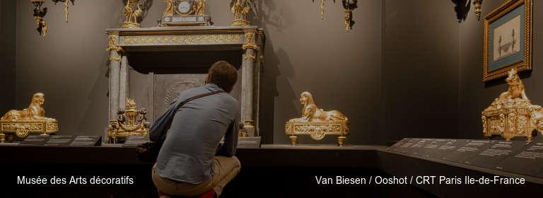 Musée des Arts décoratifs Van Biesen / Ooshot / CRT Paris Ile-de-France