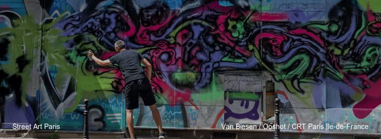 Street Art Paris Van Biesen / Ooshot / CRT Paris Ile-de-France