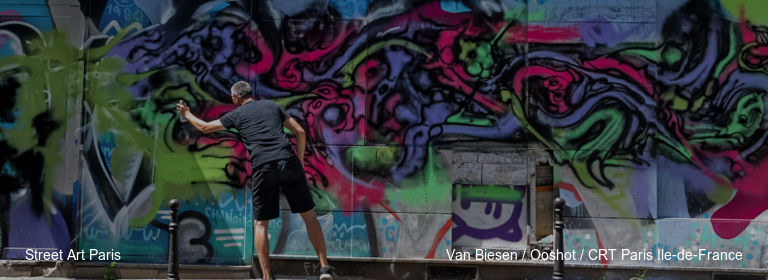 Street Art Paris Van Biesen %252F Ooshot %252F CRT Paris Ile-de-France