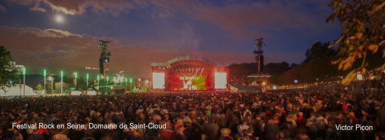 Festival Rock en Seine, Domaine de Saint-Cloud Victor Picon