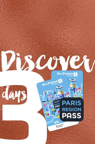 Paris Region Pass - DISCOVER - 3 days package