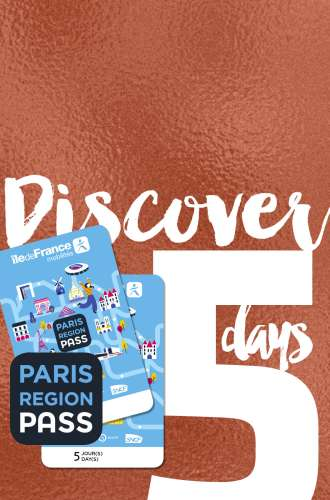 Paris Region Pass - DISCOVER - 5 days package