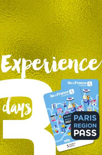 Paris Region Pass - EXPERIENCE - 3 days package