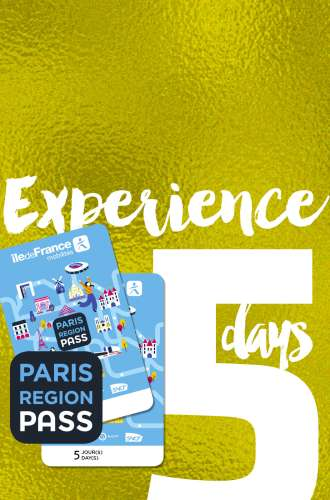 Paris Region Pass - EXPERIENCE - 5 days package
