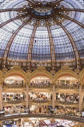 Galeries Lafayette Haussmann%252C la coupole%252C Paris 2016 A. Clemenza%252FGaleries Lafayette
