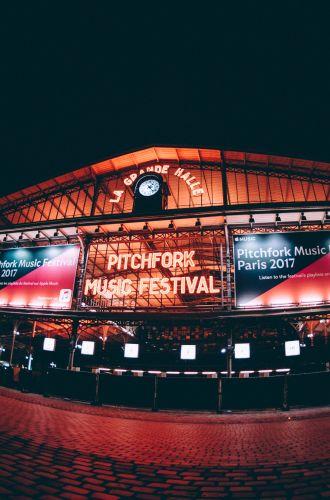 Grande Halle de la Villette Pitchfork Music Festival Paris