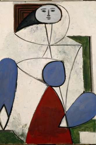 Pablo Picasso Femme dans un fauteuil RMN-Grand Palais (Musée national Picasso-Paris) %252F Gérard Blot