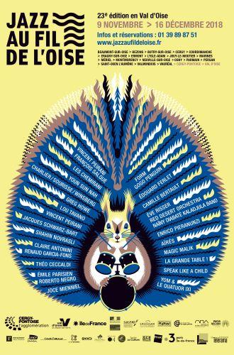Festival Jazz au fil de l&%2523039;Oise Camille Vigouroux