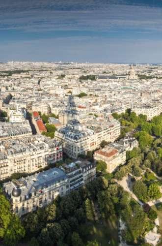 Jardin du Champ-de-Mars Paris