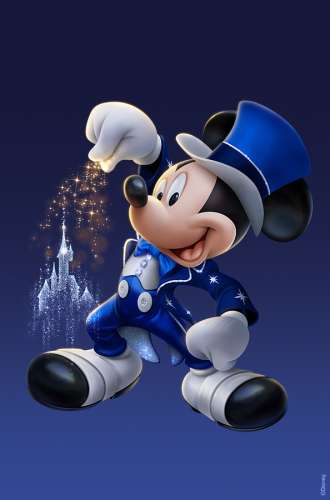 Billet Disney SUPER MAGIC - 1 jour - 2 parcs