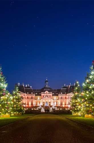 Château de Vaux-le-Vicomte%252C illuminations de Noël 2016.
