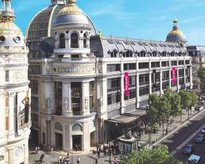 Le Printemps Haussmann, façade, Paris. Le Printemps Haussmann 2017