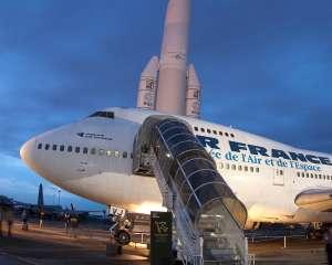 Boeing 747 de nuit au musée de l'air et de l'espace Musée de l'Air et de l'Espace/Alexandre Fernandes