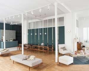 Sézane, appartement concept store, Paris 2015. Sézane