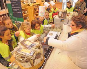 Visite du marché de Rungis Thibault Deplats pour le Marché International de Rungis