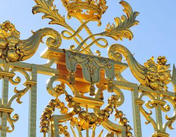 Domaine de Versailles, détail de la grille du Château Jarry-Tripelon, CRT Paris Ile-de-France