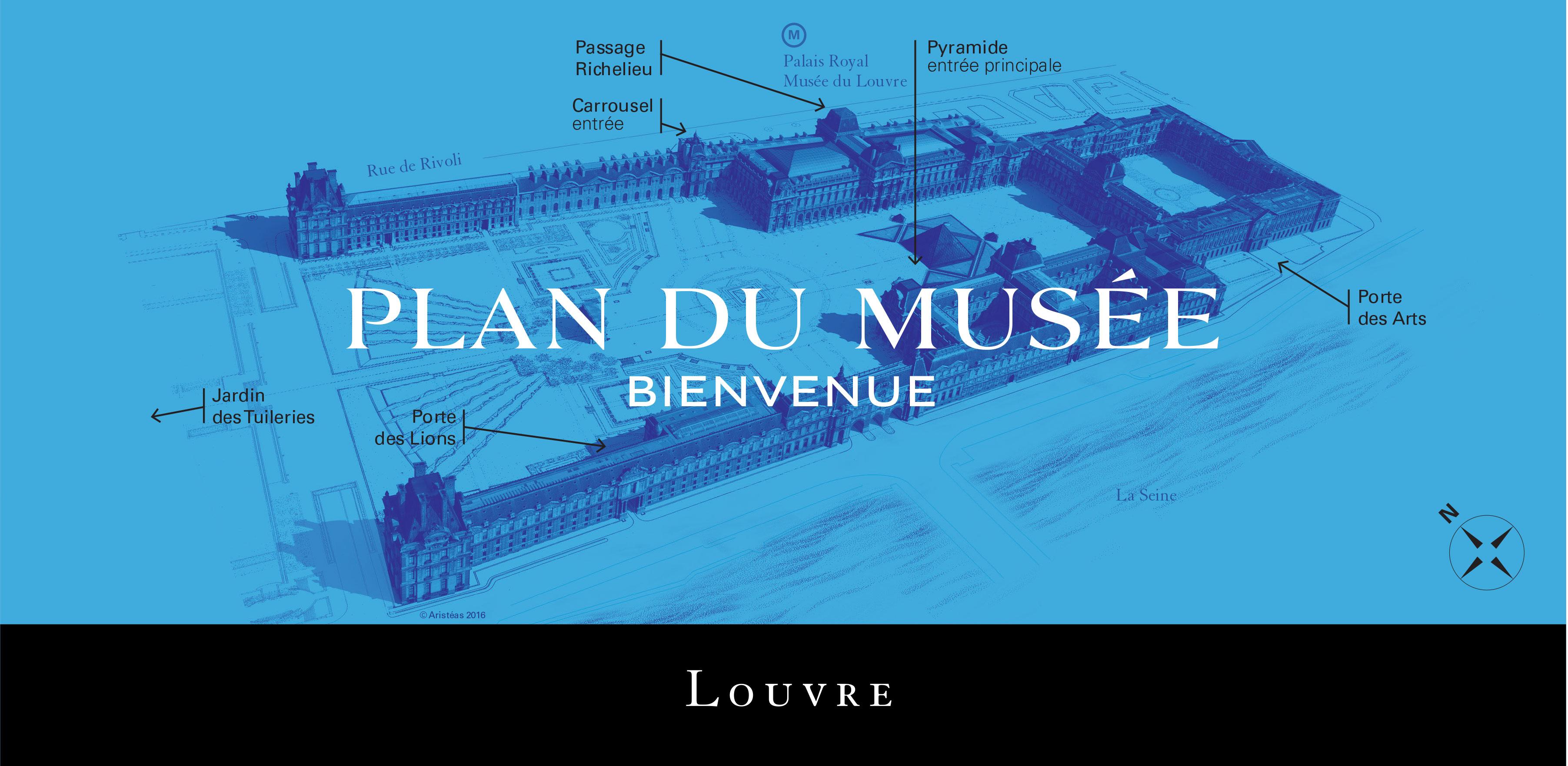 Plan du Musée du Louvre Application du Musée du Louvre