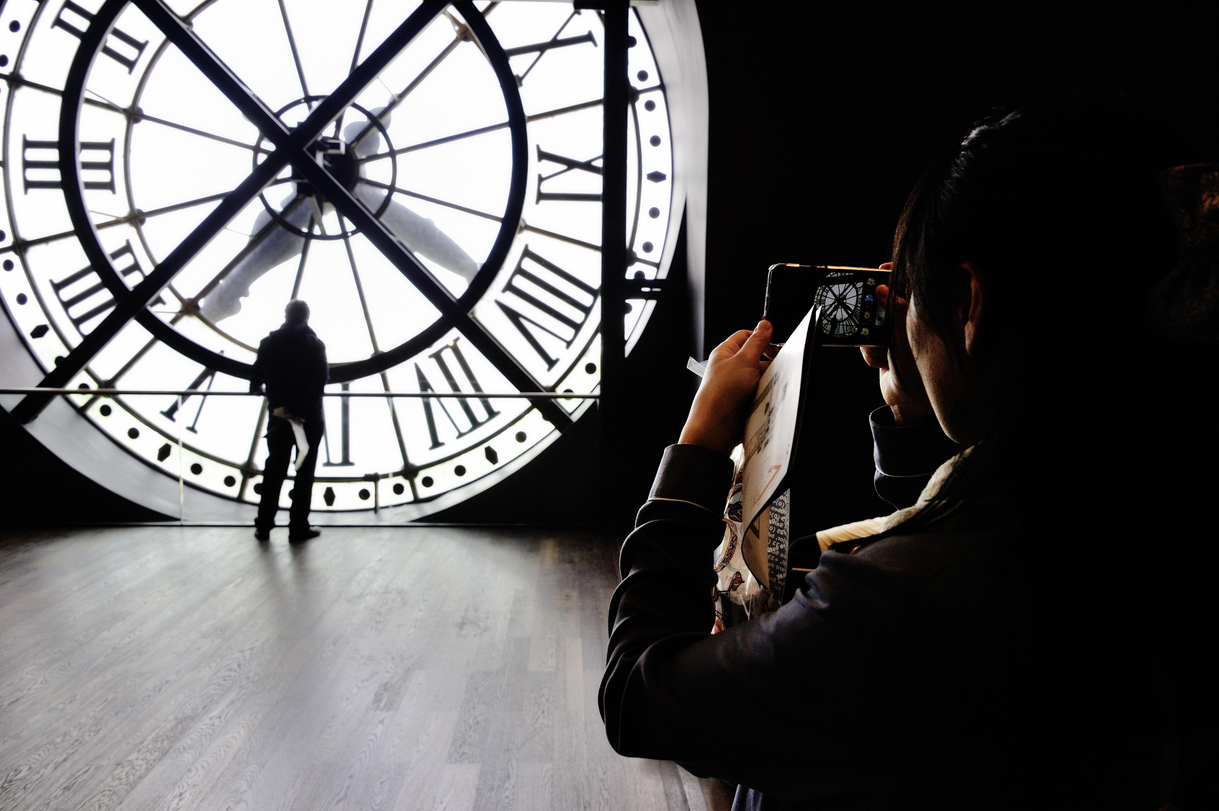 Musée d'Orsay%252C l'horloge extérieure Musée des Arts Décoratifs%252C Paris 2017