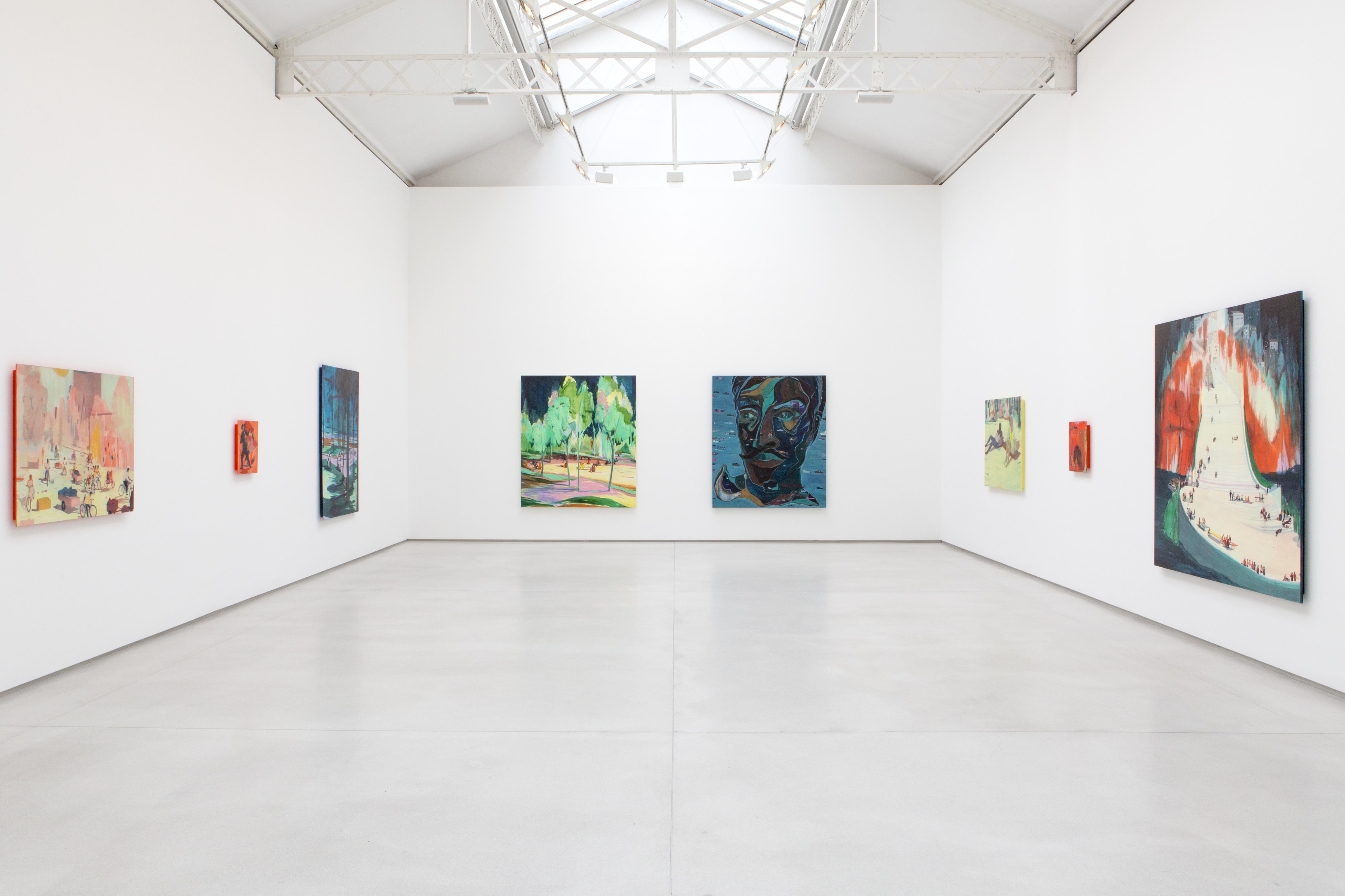 Jules de Balincourt%252C Galerie Thaddaeus Ropac%252C exposition